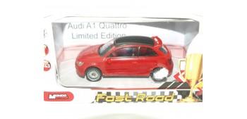 Audi A1 Quattro rojo escala 1/43 Mondo Motors Coche miniatura