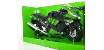 Kawasaki ZX-14 2011 escala 1/12 New ray moto en miniatura