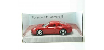 Porsche 911 Carrera S rojo scale 1/43 Mondo Motors miniature car