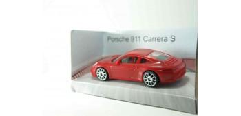 Porsche 911 Carrera S rojo escala 1/43 Mondo Motors Coche metal miniatura