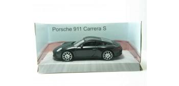 Porsche 911 Carrera S negro escala 1/43 Mondo Motors Coche metal miniatura