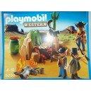 "<p>MARCA:<strong>Playmobil</strong></p> <p>MODELO:<strong>Escondite de los bandidos</strong></p> <p><strong><a class=""btn btn-default"" href=""https://www.selegnajuguetes.es/es/otros-articulos/playmobil/"">SI QUIERE VER MÁS MODELOS PLAYMOBIL</a></strong></p>"