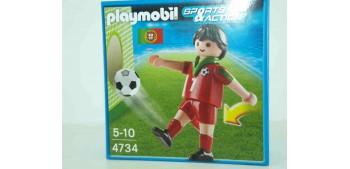 Playmobil - Jugador de Fútbol Selección Portugal
