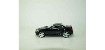 Mercedes benz SLK 55 AMG negro escala 1/43 Mondo Motors Coche metal miniatura