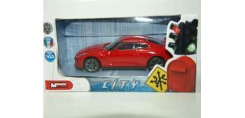 Nissan GT-R 2011 rojo escala 1/43 Mondo Motors Coche metal miniatura