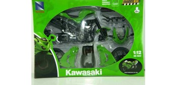 miniature motorcycle Kawasaki ZX 10 R 2006 scale 1/12 New Ray