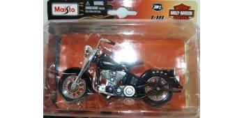 Harley Davidson 1953 74FL Hydra Glide escala 1/18 Maisto moto