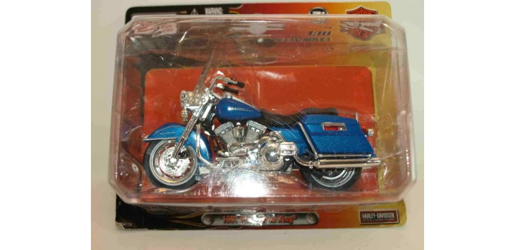 Harley Davidson 1997 FLHR Road King escala 1/18 Maisto moto