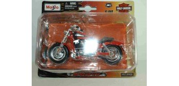Harley Davidson 2009 FXDFSE CVD Fat Bob escala 1/18 Maisto moto miniatura