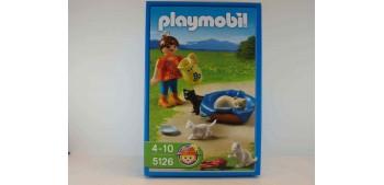 Playmobil - Niña con gatitos - gatos