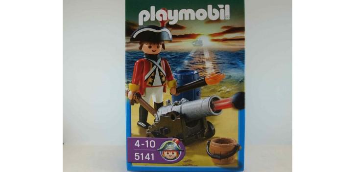 Playmobil - Soldado con cañon