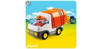 camion miniatura Playmobil 1.2.3 - Camión de Basura