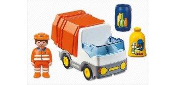 Playmobil 1.2.3 - Camión de Basura