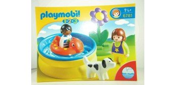 Playmobil 1.2.3 - Piscina Playmobil