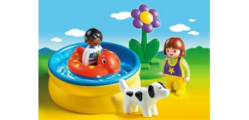 Playmobil 1.2.3 - Piscina