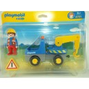 "<p>MARCA: <strong>Playmobil 1-2-3</strong></p><p>MODELO: Camión con grua</p><p><strong style=""font-style:normal;font-family:Raleway, sans-serif;font-size:14px;""><a class=""btn btn-default"" href=""https://www.selegnajuguetes.es/es/otros-articulos/playmobil/"" style=""color:#000000;"">SI QUIERE VER MÁS MODELOS PLAYMOBIL</a></strong></p>"