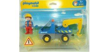 Playmobil 1.2.3 - Camión con grua