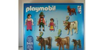Playmobil - Pastores alpinos con animales