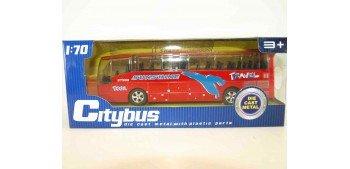 Autobus plastico con música - rojo escala 1/70 Otros