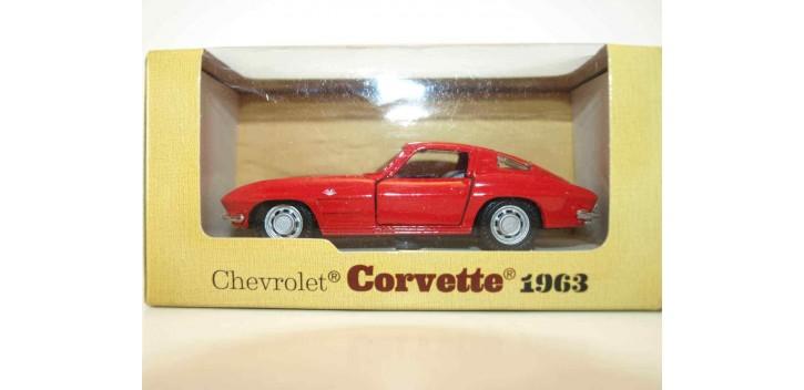 Chevrolet corvette 1963 escala 1/34 a 1/39 maisto Coche metal miniatura