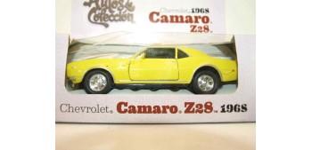 miniature car Camaro Z28 1968 escala 1/34 a 1/39 Welly Coche
