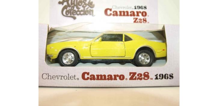 coche miniatura Camaro Z28 1968 escala 1/34 a 1/39 Welly Coche
