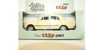 miniature car Fiat 125p 1967 escala 1/34 a 1/39 Welly Coche