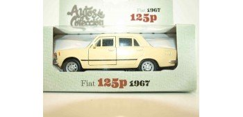 Fiat 125p 1967 escala 1/34 a 1/39 Welly Coche metal miniatura Welly