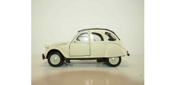 Citroen 2CV 1952 escala 1/34 a 1/39 Welly Coche metal miniatura