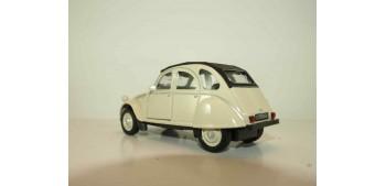 Citroen 2CV 1952 escala 1/34 a 1/39 Welly Coche metal miniatura