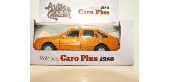 Polonez Caro Plus 1980 escala 1/34 a 1/39 Welly Coche metal