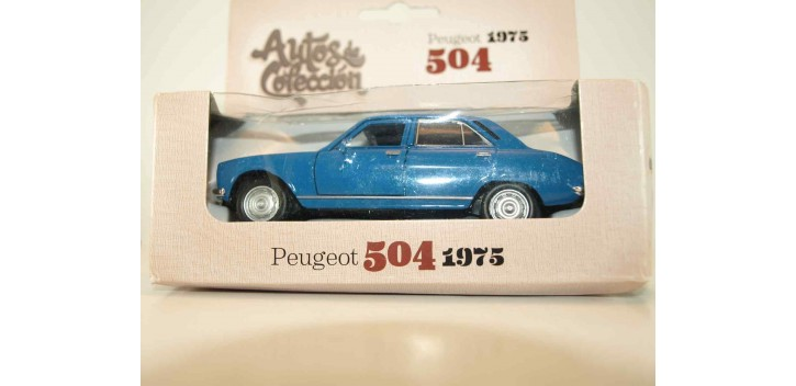 Peugeot 504 1975 escala 1/34 a 1/39 Welly Coche metal miniatura