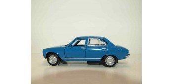 Peugeot 504 1975 escala 1/34 a 1/39 Welly Coche metal miniatura