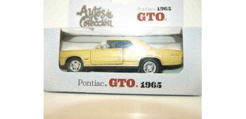 Pontiac GTO 1965 escala 1/34 a 1/39 Welly Coche metal miniatura Welly