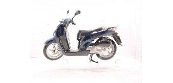 Honda SH125i azul escala 1/12 moto metal miniatura