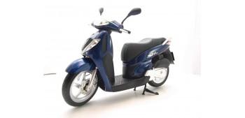 moto miniatura Honda SH125i azul escala 1/12 moto metal