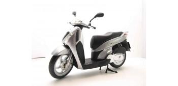 Honda SH125i gris escala 1/12 moto metal miniatura