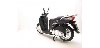 Honda SH125i negro escala 1/12 moto metal miniatura