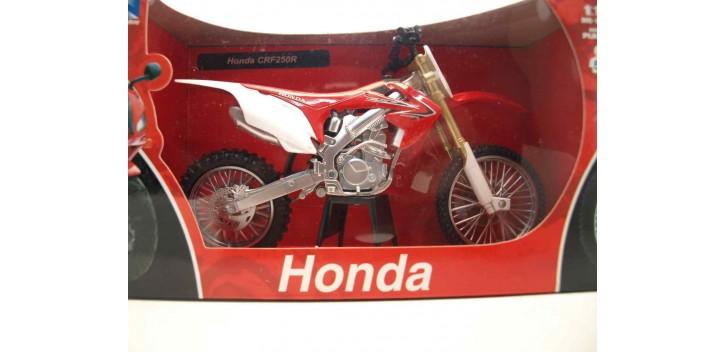 Honda CRF250R escala 1/12 New ray moto en miniatura