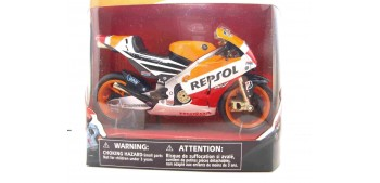 miniature motorcycle Honda RC213V Team Marc Marquez escala 1/12