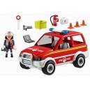 <p>MARCA:<strong>Playmobil</strong></p> <p>MODELO:Coche Jefe Policia Playmobil</p>