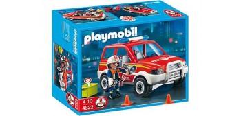 Playmobil El Coche del Jefe Policia Bomberos