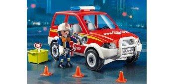 Playmobil - Coche Jefe Policía Bomberos