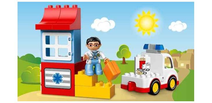 Lego - La Ambulancia 10527