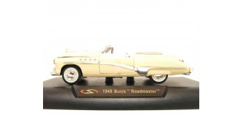 Buick Roadmaster 1949 marfil escala 1/32 New Ray coche metal miniatura