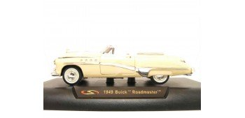 Buick Roadmaster 1949 marfil escala 1/32 New Ray coche metal