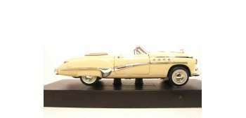 Buick Roadmaster 1949 marfil escala 1/32 New Ray coche metal miniatura