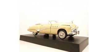 coche miniatura Buick Roadmaster 1949 marfil escala 1/32 New