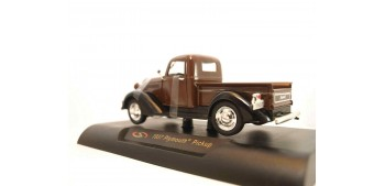 Plymouth Pickup 1937 marron escala 1/32 New Ray coche metal miniatura