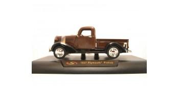 coche miniatura Plymouth Pickup 1937 marron escala 1/32 New Ray